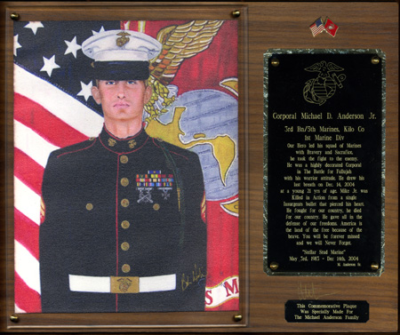 Large Memorial Plaque