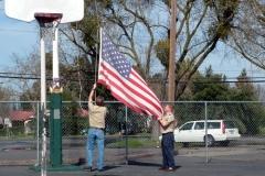 St. Stanislaus School Flag Retirement